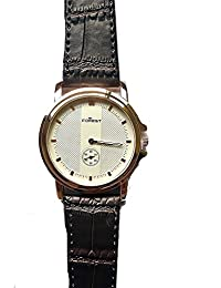 Tomorrowtrend Forest Leather Strap Analouge wrist Watch - (Brown)