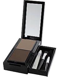 SANTE Naturkosmetik Eyebrow Talent Kit, Set aus Augenbrauenpuder, Applikator, Bürstchen und Pinzette, Karminfrei, Natural Make-up, 2.4 g