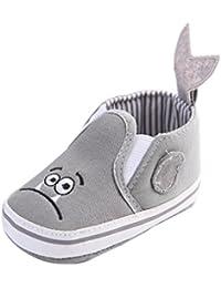 Zapatos de bebé, Switchali Bebé Niña linda Dibujos animados Suela blanda zapatos de lona Recién nacido Niño Cuna Antideslizante Zapatillas Calzado de deportes