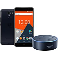 Wileyfox Swift 2 X - Midnight & Amazon Echo Dot (2nd Generation) - Black - (Exclusive to Amazon)