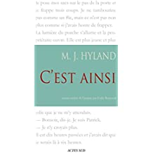 C'est ainsi (Lettres anglo-américaines) (French Edition)