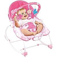 Btybess Mecedora Mecedora recién Nacido bebé de los niños Cuna Silla del sueño de la Silla de oscilación del bebé reclinable Doble finalidad eléctrico niños, bebés a Bebé Rocker
