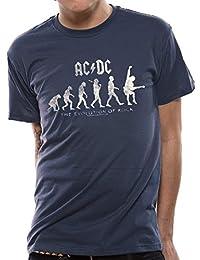 6a59698d7306b AC DC  Evolution of Rock  T-Shirt