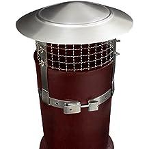HLC- Tuyau Chapeau de cheminee en Acier inox