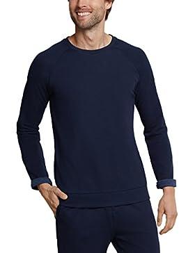 Schiesser Mix & Relax Shirt Langarm, Camiseta de Pijama para Hombre