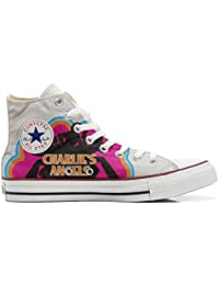 Converse All Star Hi Customized personalisiert Schuhe unisex (gedruckte Schuhe) Charlies Angels