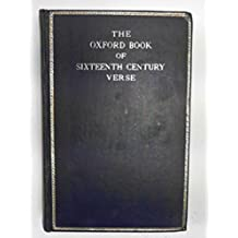 The Oxford Book of 16th Century Verse