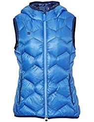 Mountain Force Gilets Hooded Down Vest Blue 38
