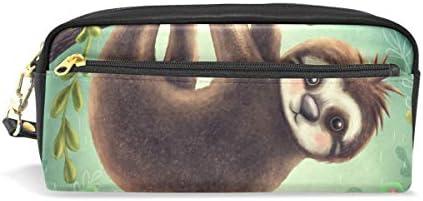 Bonipe Cute Animal paresseux Forêt Forêt Forêt Trousse Pen Box Pochette Sac d'école papeterie Fournitures de voyage Cosmétique Sac de maquillage B07KW1ZC3Z | Expédition Rapide  88cfba