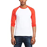 Fruit of the Loom Herren, Regular Fit, T-Shirt, Baseball