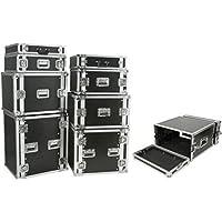 Citronic porta: 8U dimensioni 8U 19Flight Case per apparecchiature audio