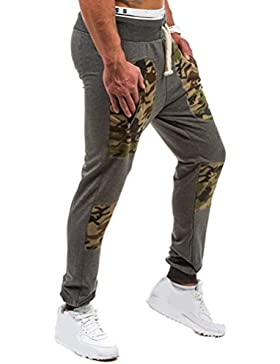 Zhhlinyuan alta calidad Men's Cotton Casual Soft Pants Breathable Slim Fit Sportswear Trousers