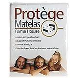 Filantex - Protège Matelas 140X190 Cm Plastifié Imperméable