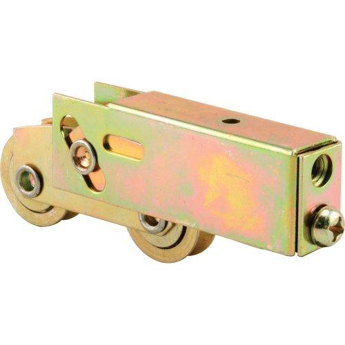 Prime-Line Products D 1735 Rollen-Montage, 1-1/4 Zoll Tandem-Räder, konkaver Kante, Stahlkugellager, verstellbar