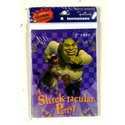 Shrek Party Einladungen (Party Supplies Shrek)