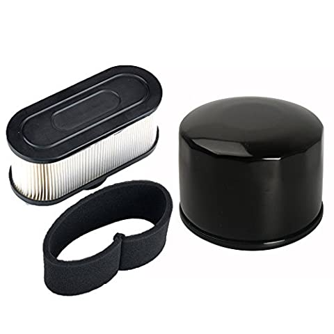 ouyfilters Pack Of Oil Filtre with Air Pre Filtre For Kawasaki fr651 V fr691 V fr730 V fs481 V fs541 V fs600 V fs651 V fs691 V fs730 V 4 moteur de Cycle