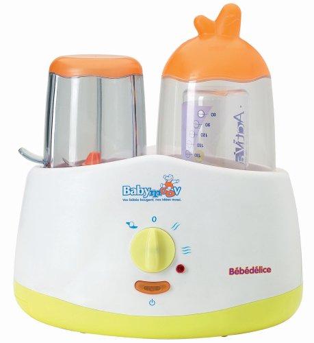 Robot cuiseur Bébédélice Babymoov Orange Vert
