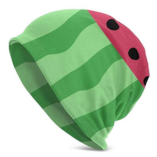 Summer Watermelon Fruit Winter Beanie Hats Gorras de calavera de punto con puños calientes para hombres Mujeres