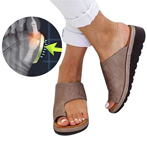 Sandalias Correctoras Sandalias Cómodas De Plataforma Bunion Corrector Zapatos Pies Correcta Suela...