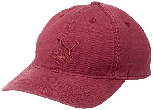 Puma Erwachsene Archive BB Cap Kappe, Pomegranate, Adult