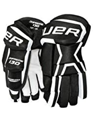 Bauer Supreme 130 guantes junior multicolor negro/blanco Talla:10 pulgadas