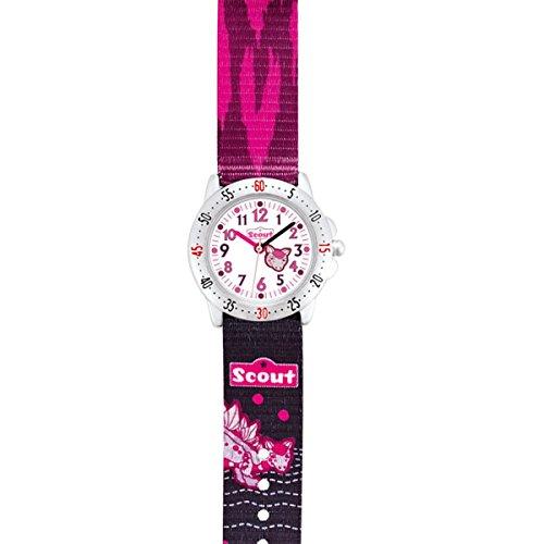 Scout Mädchen-Armbanduhr Analog Quarz Textil 280378069 - 2