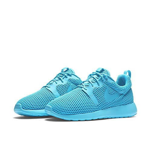 Nike W Roshe One Hyp Br, Baskets Basses Femme, Bleu, 36,5 EU Azul (Gamma Blue / Gamma Blue-Bl Lgn)