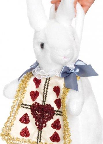 Struts Fancy Dress Alice In Wonderland Stil weißes Kaninchen ()