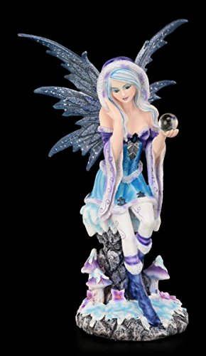 Elfenfigur - Winter Memories - Elfen Figur Elfe Fee Fairy Deko