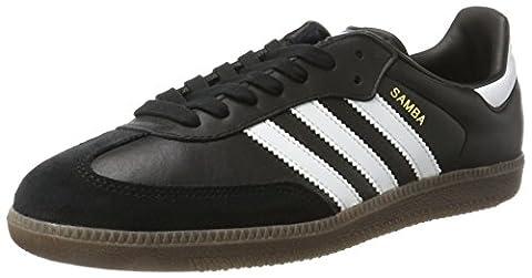 adidas Unisex-Erwachsene Samba Sneakers, Schwarz (Core Black/Footwear White/Gum), 46 EU