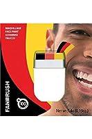 Ce stick de maquillage est de couleur noir, rouge, jaune.Très pratique et rapide dutilisation, il est conçu en france et sans paraben.Ce maquillage aux couleurs de lAllemagne, sera parfait pour supporter votre équipe préférée lors dun évènement spor...