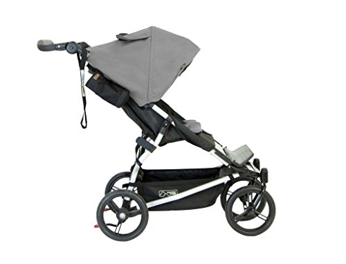 Mountain Buggy Evolution Duet Flint inkl. Regenschutz - 2