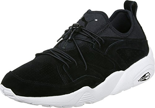 Puma BLAZE OF GLORY SOFT Chaussures Mode Sneakers Unisex Cuir Suede Noir