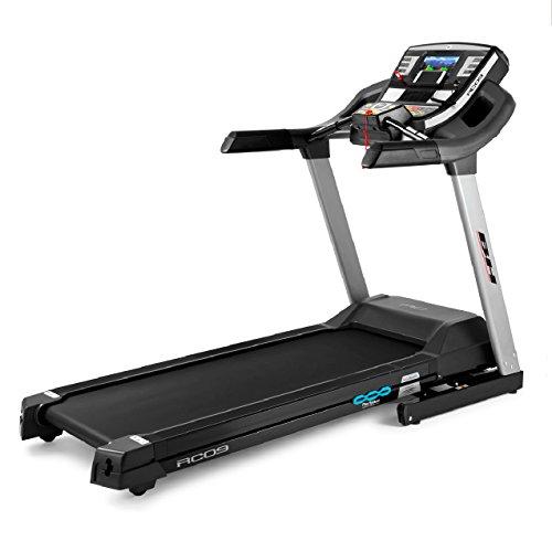 BH Fitness RC09 TFT G6180TFT tapis roulant elettrico - Pieghevole - Inclinazione elettrica 12 % max - 22 Km/h - Schermo 9