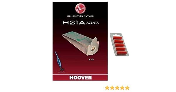 confezione da 5 pezzi Hoover H21A Genuine Acenta Series-Sacchetti per aspirapolvere