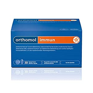 Orthomol immun 30er Tabletten & Kapseln – Vitamine & Spurenelemente – Komplex zur Unterstützung für das Immunsystem