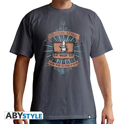 ABYstyle abystyleabytex376_ XL fantástico bestias maleta camiseta para hombre (XL)