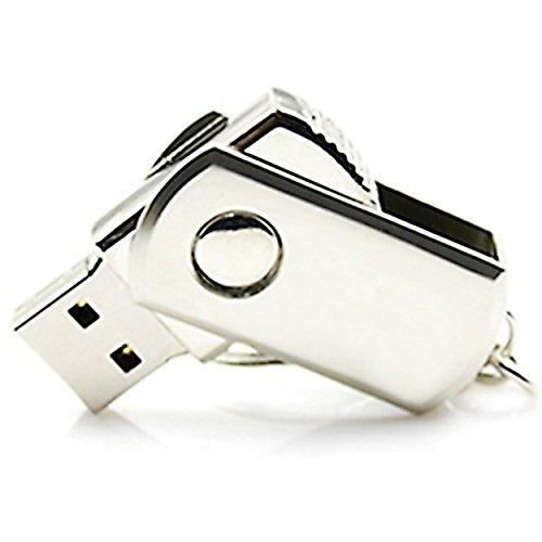 lalakie® 360gradi girevole metallo USB 3.0Flash Drive Pendrive ad alta velocità 4GB