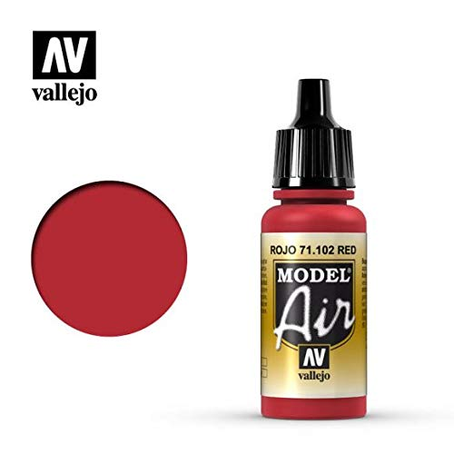 Vallejo MODEL AIR 17 ml colore RED