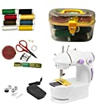 Sewing Machine is well designed and carefully crafted sewing machine is what you need to ensure perfect stitching of clothes . This sewing machine will save you pain of constantly making trips to your tailor for stitching requirements which can now b...