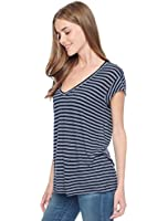 Splendid Navy Stripe T-Shirt