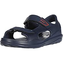 Crocs Unisex Kid's Swiftwater Expedition Sandal Ankle Strap, Blue (Navy/Navy 463), 8 UK 24/25 EU