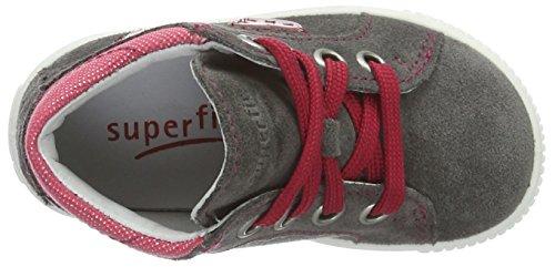 Superfit Moppy, Chaussures Marche Bébé Fille Grau (stone Kombi)