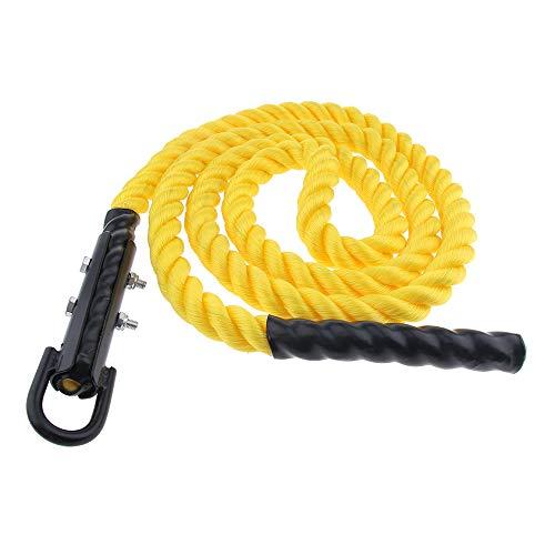 EYLIFE Fitness-Kletterseil für das Training, 30 Fuß x 1,5 Zoll, Kampfseil für Outdoor- und Indoor-Fitnessübungen für das Krafttraining -
