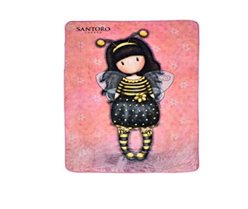 Stamion Gorjuss Bee Loved - Manta Invierno 140 x 210
