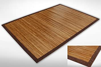 Bambusteppich  Bambusteppich B105 in 80x300cm - 10 weitere Modelle im Amazon ...