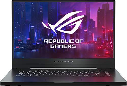 ASUS ROG Zephyrus G GA502DU-BQ015 - Portátil Gaming de 15,6' FullHD (Ryzen 7 3750H, 8GB RAM, 512GB SSD, GeForce GTX1660Ti 6GB, Sin sistema operativo) Metal Negro - Teclado QWERTY español
