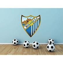 Malaga CF Spain Soccer Football Sport Home Decor Art Wall Vinyl Sticker 63 x 53 cm