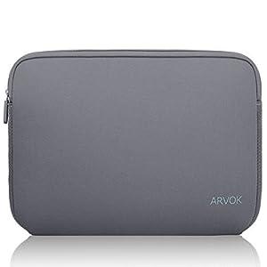 41Y F37C7kL. SS300  - Arvok 11,6 Pulgadas Funda Protectora para Portátiles/Impermeable Ordenador Portátil Caso/Neopreno del Portátil Bolsa para Acer/ASUS/DELL/Fujitsu/Lenovo/HP/Samsung/Sony (Amarillo)