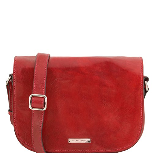 81414824 - TUSCANY LEATHER: RACHELE - Sac bandoulière en cuir, rouge